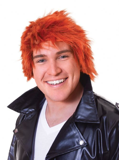 Adults Scottish Chisel Ginger Wig Scotland Highland Jock Jimmy Fancy Dress